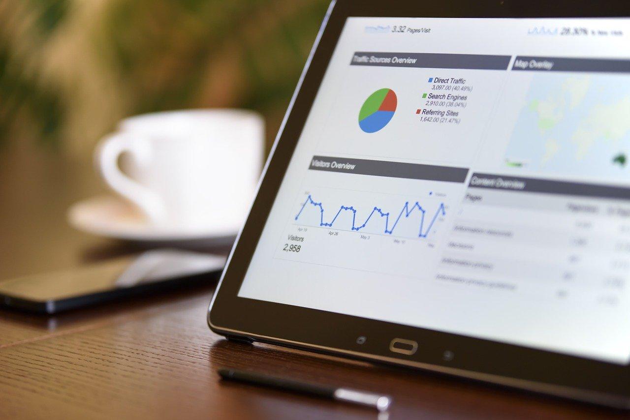 google analytics screen data seo